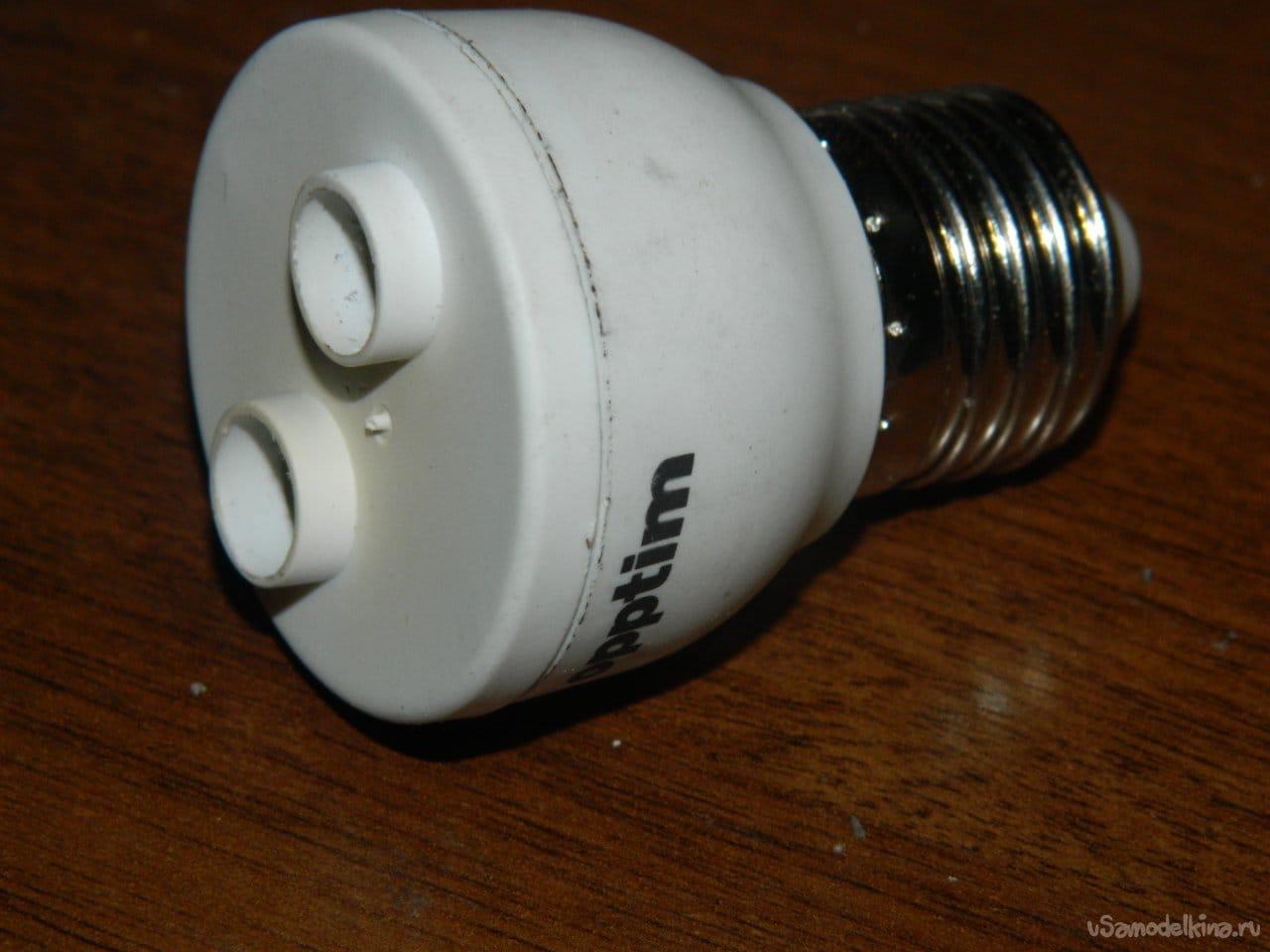 Светодиодная лампа на 4 Вт своими руками
