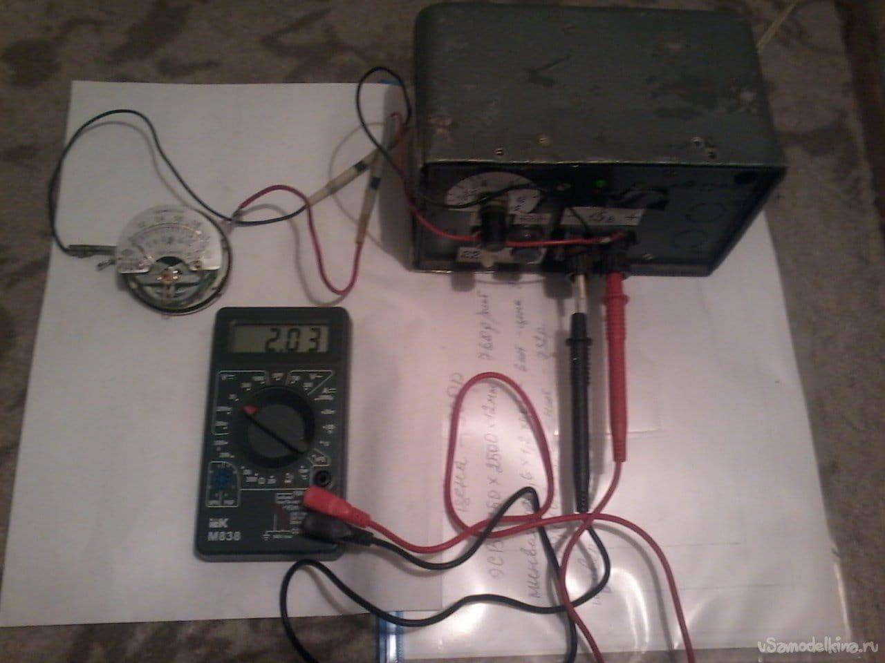 Пробник для контроля электрооборудования автомобиля