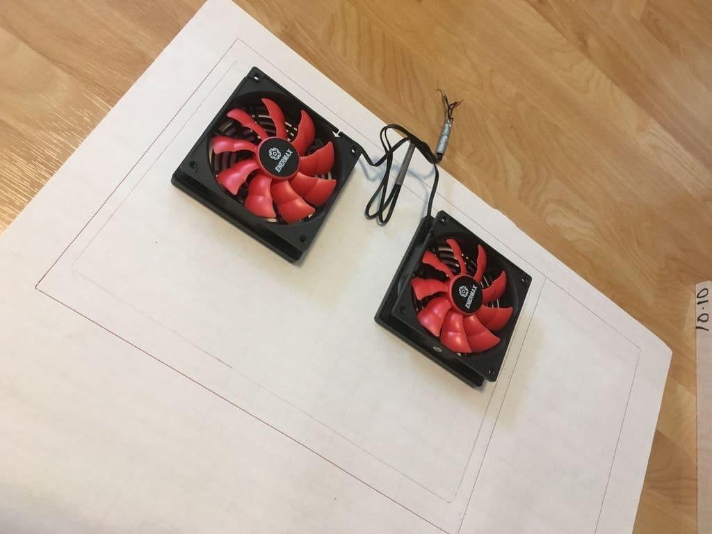 Подставка с вентиляторами для ноутбука