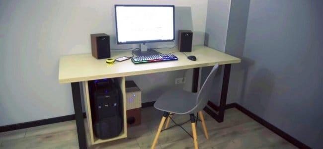 Делаем компьютерный стол своими руками
