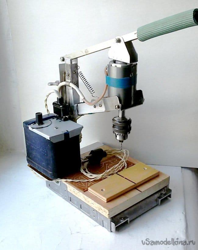 Регулятор оборотов двигателя сверлильного станка
